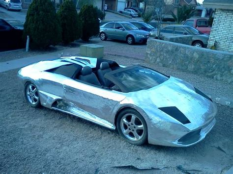 Lamborghini Where Is It Made Is This Chrome Wrapped Lamborghini The Worst Replica