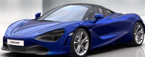 Mclaren 720s Blue by Mclaren 720s Colors Dpccars