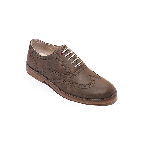 oxford suede shoes hilfiger suede oxford shoe in brown for