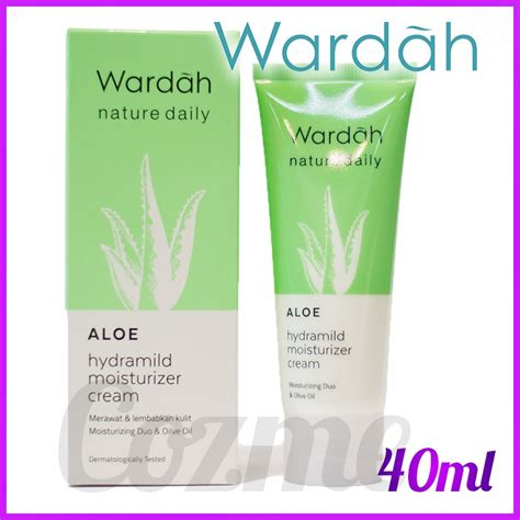 Harga Wardah Aloe Hydramild Moisturizer wardah aloe hydramild moisturizer 40ml shopee