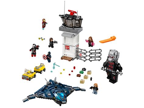 Lego Marvel Heroes 76051 Airport Battle airport battle 76051 marvel heroes lego shop
