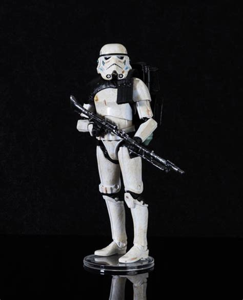 6 figure stands black series 6 inch figure stands