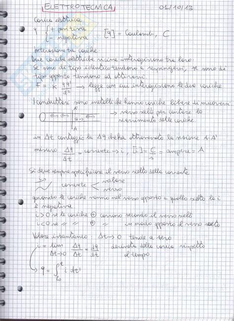dispensa elettrotecnica lezioni appunti di elettrotecnica