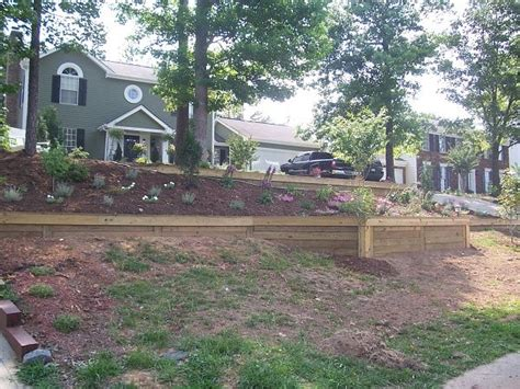 Railroad Tie Landscaping Ideas Railroad Ties Retaining Wall Ideas Car Interior Design