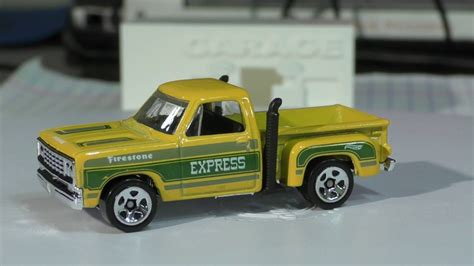 Hw Wheels Hotwheels 1978 Dodge Li L Express Truck Yellow 2017 Wheels A 11 1978 Dodge Lil Express