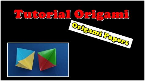 youtube tutorial origami bintang cara melipat kertas origami origami hiasan bintang youtube