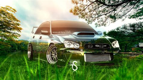 subaru sti jdm subaru wrx sti crystal nature car 2013 el tony