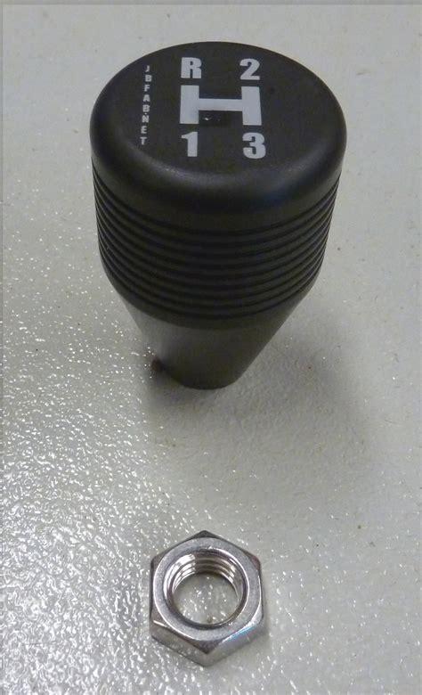 3 Speed Shift Knob by Black Aluminum Hurst 3 Speed Shift Knob Broncograveyard