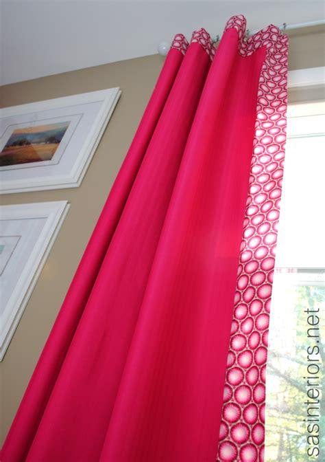add decorative trim  curtains  cheap jenna