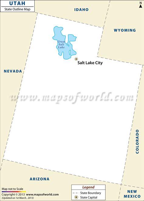 utah usa map blank map of utah utah outline map