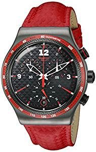 Swatch Rosso Fuoco Yvm401 orologio swatch irony chrono yvm401 rosso fuoco it