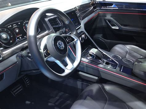 volkswagen crossblue interior la auto show gallery of volkswagen crossblue coupe and