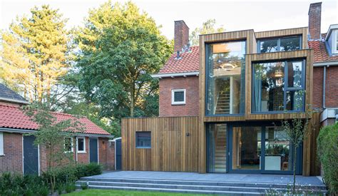 2 Story House Floor Plans brick facade inhabitat green design innovation