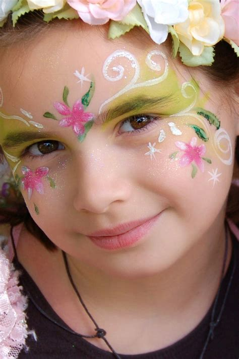 flower makeup painting flower painting illusions and