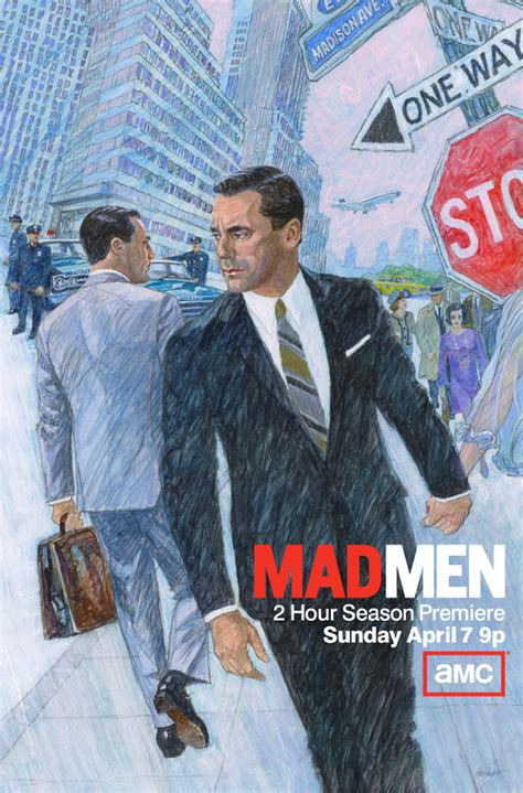 mad season 6 and 1960s 1960s style mad season 6 poster shows don draper