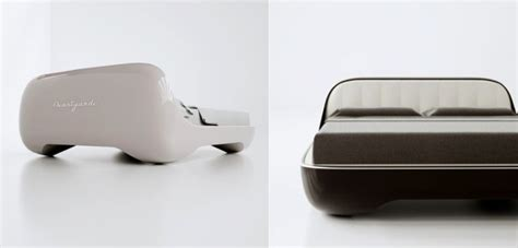 future beds futuristic avantgarde bed design is reminiscent to vintage