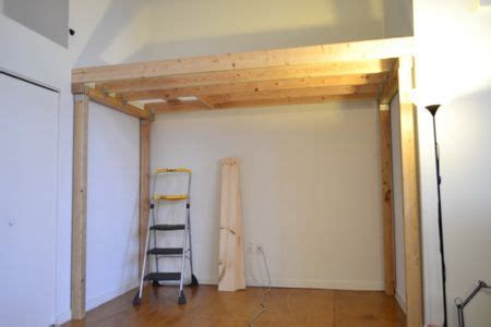 Diy Bedroom Loft by How To Build A Loft Diy Step By Step With Pictures