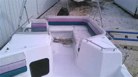 used deck boats for sale in delaware 1995 used hurricane fd226fd226 deck boat for sale 1 000
