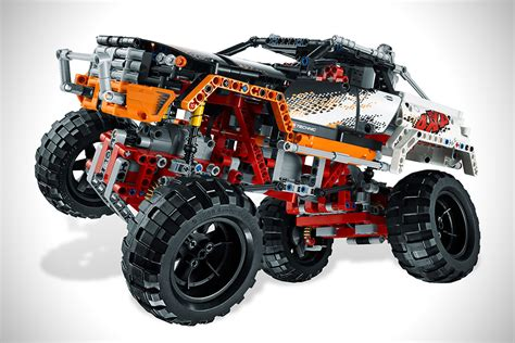 Lego Technic Remote 4x4 Crawler Jeep 9398 Lego Technic 4x4 Crawler Hiconsumption