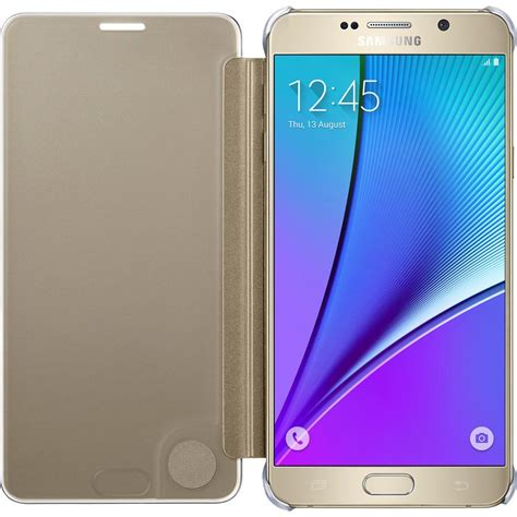 Sview Note5 samsung galaxy note5 s view flip cover clear