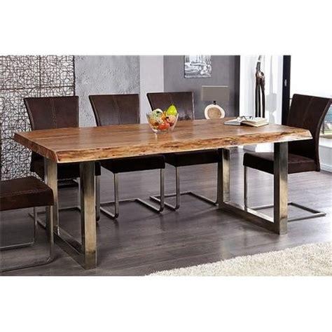 Table A Manger Bois Design by Table Design Akazio Bois Achat Vente Table A Manger