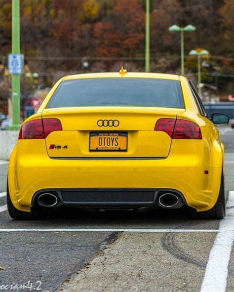 audie rs4 audi rs4 mellow yellow cars audi rs4