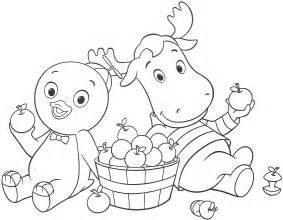 backyardigans coloring pages free printable backyardigans coloring pages for
