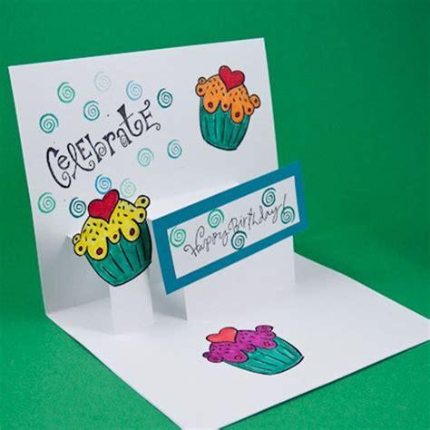 beautiful pop up birthday card template geburtstagskarte selber basteln pop up oder aufklappkarte