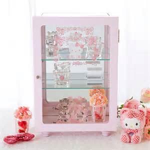 hello shelves hello display shelf showcase glass cabinet sanrio