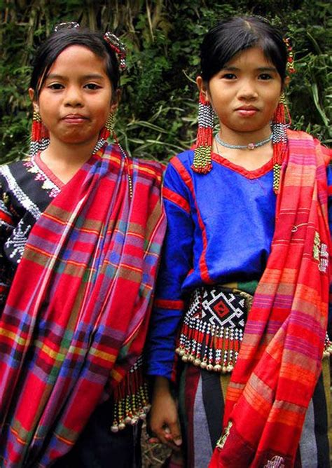 philippines traditional clothing for kids children wearing traditional t boli garb mindanao