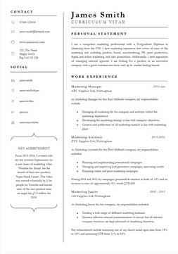 Free Cv Format Template by 132 Cv Templates Free To In Microsoft Word Format