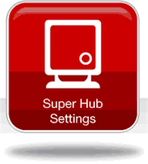 reset virgin media super hub admin password changing the router s settings page password