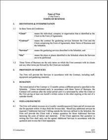 installation contract template doc 500646 plumber contract terms of business template