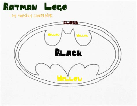 printable batman logo free coloring pages of superhero cape