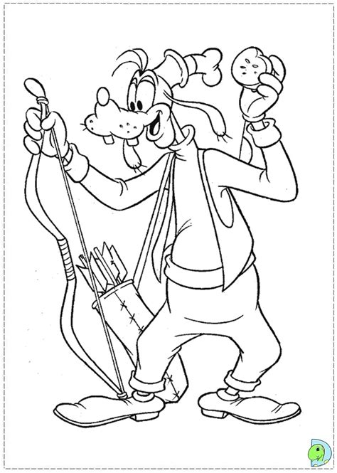 goofy birthday coloring pages cowboy goofy free coloring pages