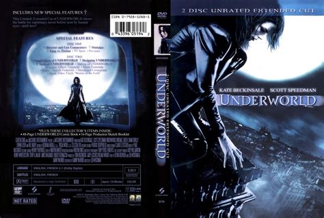 underworld editions cover images underworld extended edition r1 scan movie dvd scanned covers 7underworld unrated front