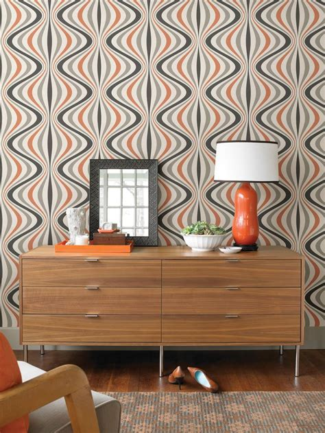 orange feature wall bedroom 1000 ideas about feature wallpaper on pinterest little
