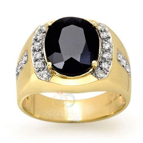 Cincin Batu Onyx Asli cincin kawin fojik untuk pria dengan batu onyx asli