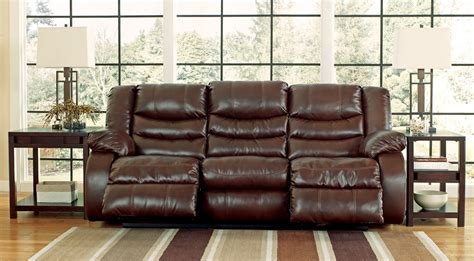 Espresso Reclining Sofa by Linebacker Durablend Espresso Reclining Sofa From 9520188 Coleman Furniture