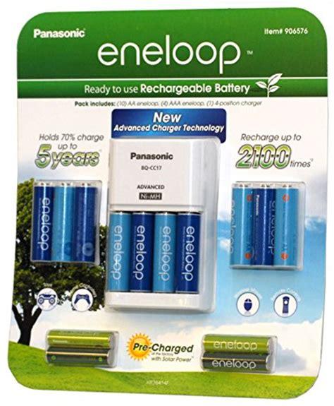 Sale Panasonic Charger Batt Eneloop Aa2s panasonic eneloop kit 10 aa 4 aaa batteries charger 906576 best gadget martbest gadget mart