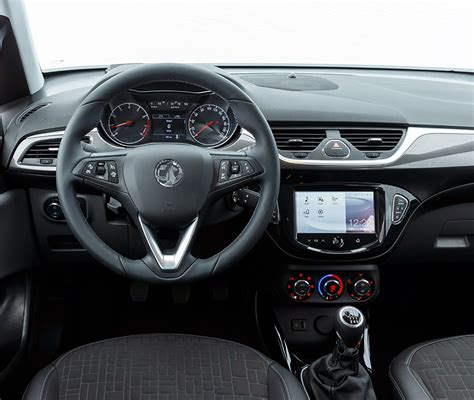 opel corsa interior 2016 news first pictures and details of 2015 vauxhall corsa