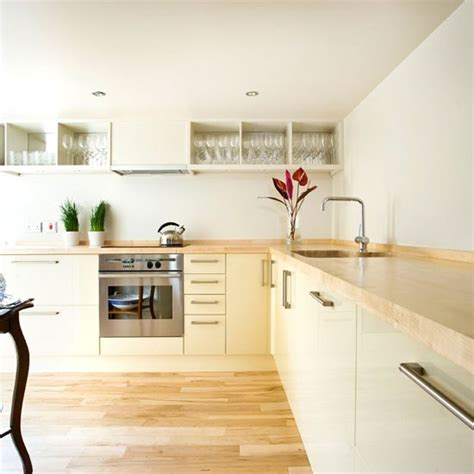 sleek kitchen be inspired by this small sleek kitchen housetohome co uk