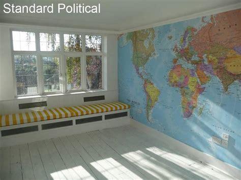 world map wallpaper by maps international