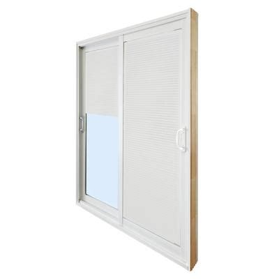 5 Foot Sliding Patio Doors Stanley Doors Sliding Patio Door Mini Blinds 5 Foot 60 Inches X 80 Inches