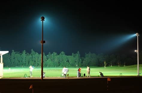 golf driving range lighting floodlighting light ie