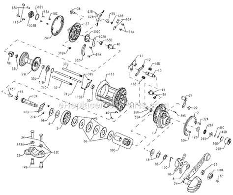 okuma reel parts diagram penn 525mag2 parts list and diagram ereplacementparts