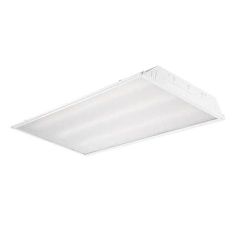 Ceiling Troffer by Envirolite 2 Ft X 4 Ft White 3 Recessed Led Ceiling