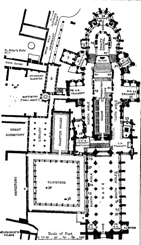 arundel castle floor plan black white plans 97 plan of canterbury a cidade