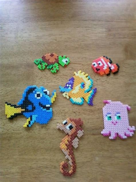 bead characters finding nemo characters perlwer by kaitlynn g