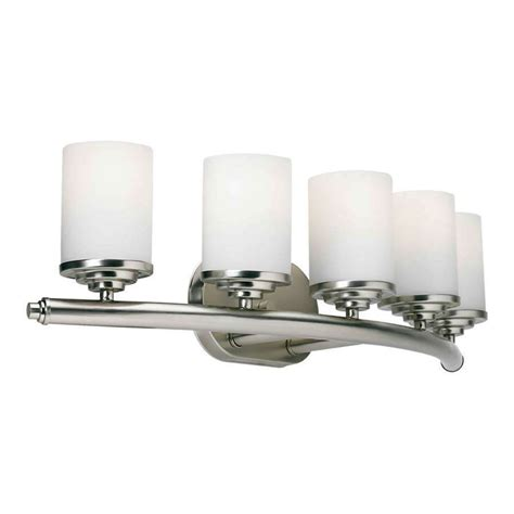 forte lighting  light bathroom vanity light  brushed nickel    ebay